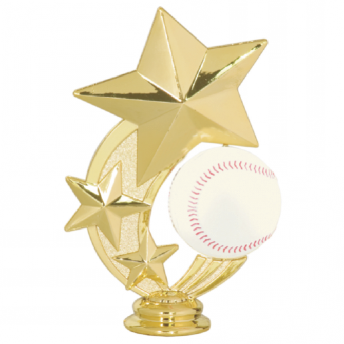 Three Star Baseball Spinner