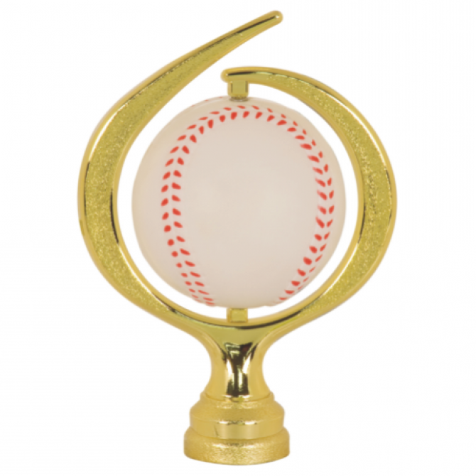 Large Swirl Soft Baseball spinner