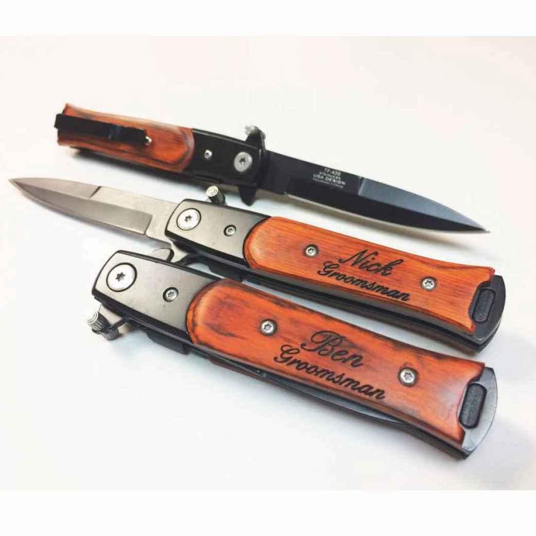 Groomsmen Gifts - Stiletto Knife