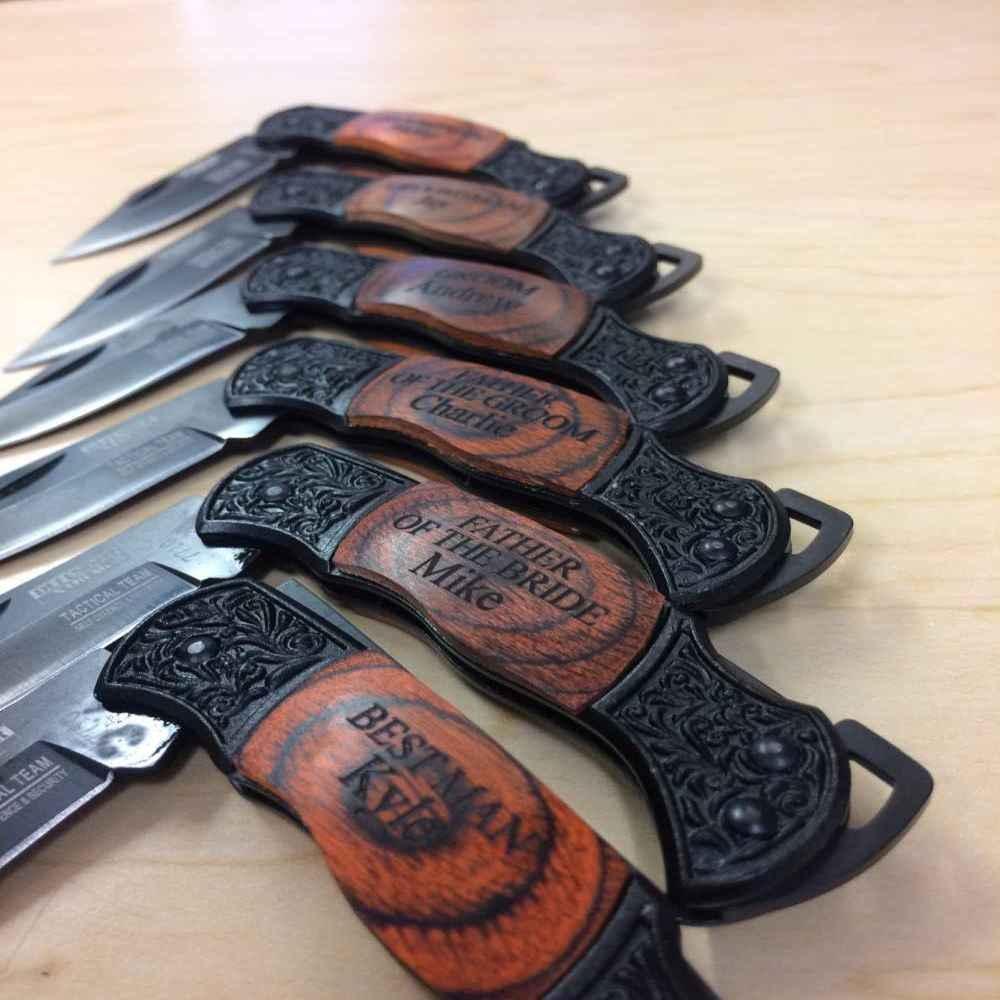 Groomsmen Gifts - Folding Knife