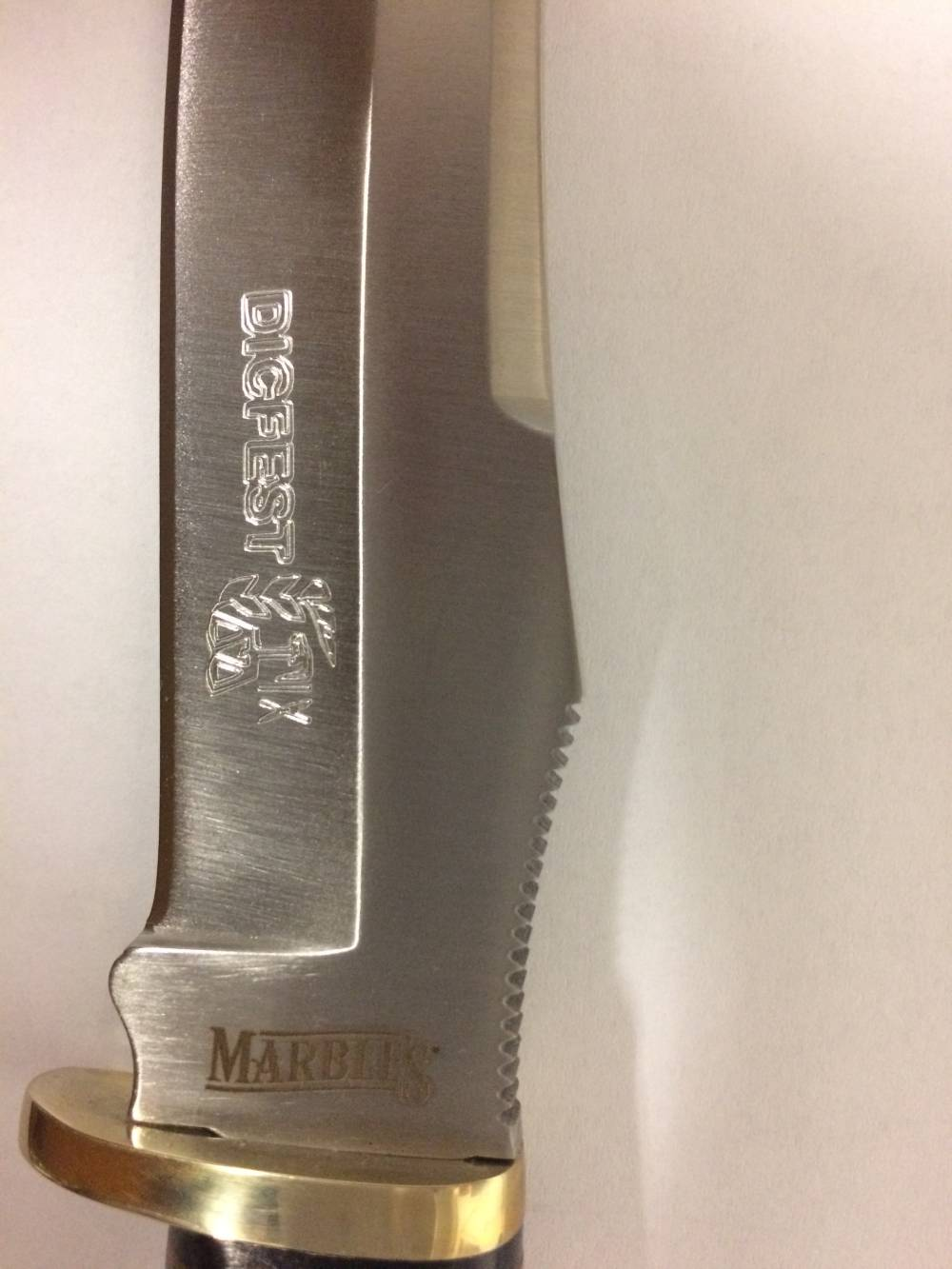 Knife Blade Engraving