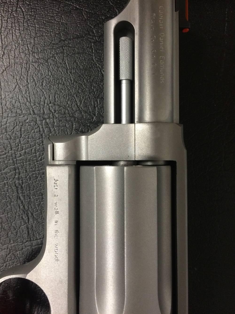 Revolver Engraving