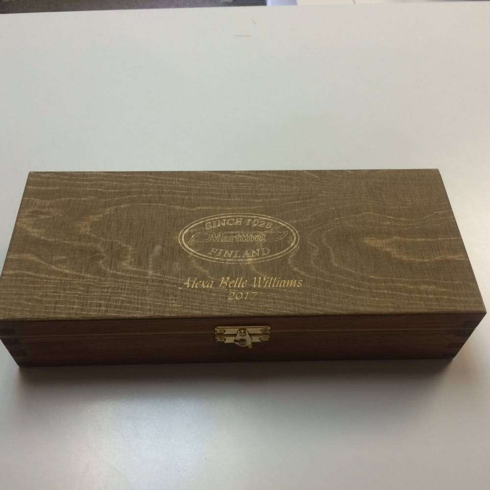 Knife Box Engraving