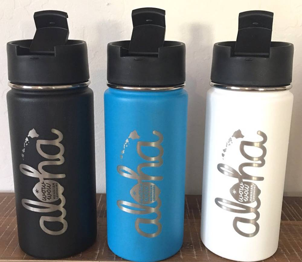 Hydro Flask Engraving