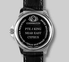 Watch engraving